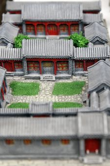 Free Life In Old Beijing. Royalty Free Stock Image - 4151226