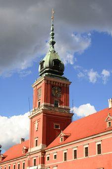 Free Royal Castle - Warsaw Royalty Free Stock Photo - 4151265
