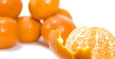 Free Tangerines Royalty Free Stock Photo - 4151345
