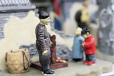 Free Life In Old Beijing. Stock Photo - 4151420
