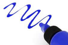 Blue Paint Stock Photos