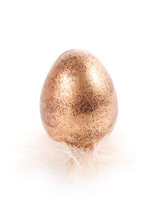 Free Golden Easter Egg Royalty Free Stock Photography - 4151867