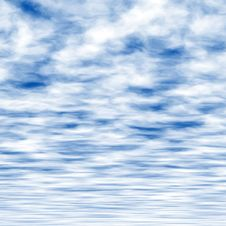 Free Blue Sky Illustration Stock Images - 4152824