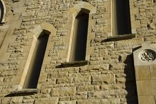 Closeup Of Church Stock Image