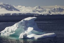 Free Iceberg In Lemaire Channel Royalty Free Stock Photography - 4153387