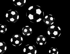 Free Soccer Balls Royalty Free Stock Photography - 4153577