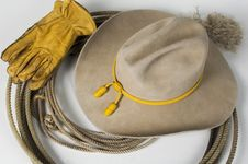 Free Cowboy Hat 4 Royalty Free Stock Photography - 4154917