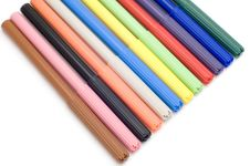 Free Colored Marker Stock Images - 4154994