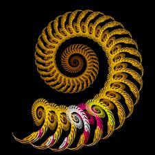 Free Spiraling Spirals Royalty Free Stock Image - 4155356
