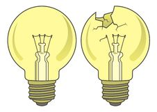 Free Light Bulb Royalty Free Stock Images - 4155819