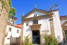 Free Portugal, Ponte Da Barca, Ancient Monument, Church Royalty Free Stock Photos - 4156298
