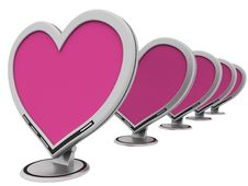 Free Monitors Of Love Stock Images - 4156964