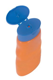 Free Plastic Bottle For Shower Gel Royalty Free Stock Image - 4157126