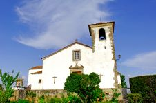 Free Portugal, Area Of Alentejo, Marvao: Old Church Royalty Free Stock Photo - 4157435