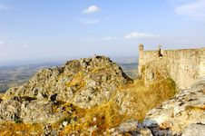 Free Portugal, Area Of Alentejo, Marvao: Castle Stock Photo - 4157560