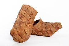Free Bast Shoe Royalty Free Stock Images - 4158059