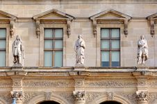 Free France, Paris: Louvre Palace Royalty Free Stock Photos - 4158128