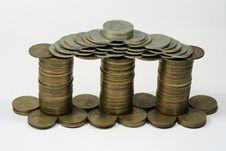 Free Coins House Stock Photos - 4158173