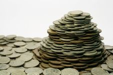 Free Pile Of Coins Royalty Free Stock Images - 4158269