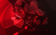 Valentine S Abstract Royalty Free Stock Photography