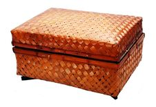 Free Bamboo Basket Stock Image - 4158501