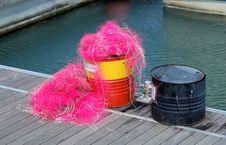 Free Fishing Net Royalty Free Stock Photography - 4158627