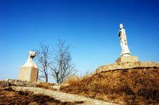 Free Bodhisattva Statue Royalty Free Stock Image - 4159296