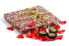 Free Fancy Box And Pralines Stock Photos - 4159593