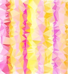 Modern Abstract Triangles Background Royalty Free Stock Photo