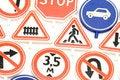 Free Road Sign Macro Stock Photography - 4164482