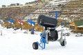 Free Snow Gun Royalty Free Stock Images - 4165759