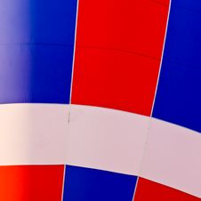 Free Red White & Blue - Hot Air Balloon Stock Photo - 4160270