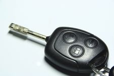 Free Car Key Royalty Free Stock Image - 4160606