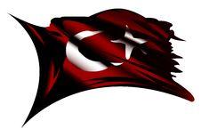 Free Turkey Flag Royalty Free Stock Photos - 4160608