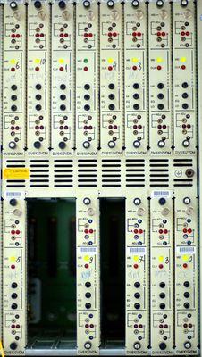 Telecommunication Equipment Fr Stock Image