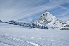 Free Winter Landscape In Switzerland Stock Photo - 4161770
