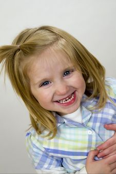 Free Happy Baby Girl Royalty Free Stock Photos - 4162168
