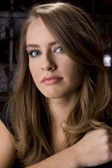Free Beautiful Girl Looking At Camera Stock Images - 4162454
