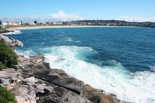 Australia Bondi Beach Stock Photography