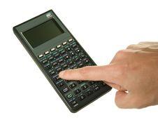 Free Scientific Calculator Royalty Free Stock Photo - 4163695