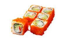Free Sushi Roll Hakaido Maki Stock Photography - 4164042