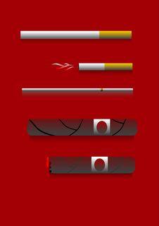 Free Cigarettes Stock Image - 4164761