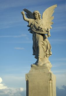 Free Angel And Sky Stock Photography - 4164972