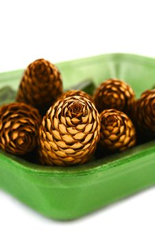 Free Wood Pine Fir Cones Royalty Free Stock Photography - 4165007
