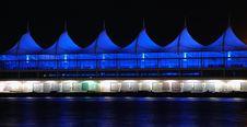 Miami Cruise Ship Port At Night