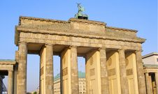 Free Brandenburg Gate Stock Image - 4165661
