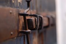 Free Old Lock Royalty Free Stock Image - 4166026