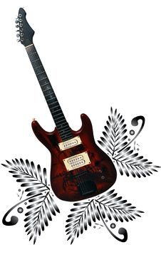 Free Electric Guitar Stock Photos - 4166083