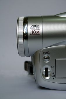 Free Video Camera Detail Stock Photography - 4166372