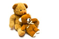 Free Teddy Love Stock Image - 4167591